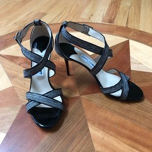 Jimmy Choo Patent Leather Lottie Sandals / size 42
